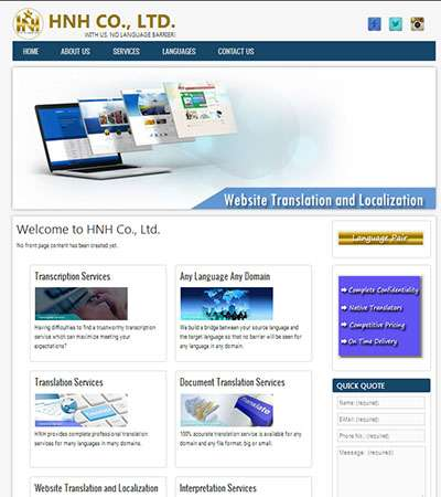 HNH Myanmar Co., Ltd. Web Design by Myanmar Website World