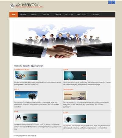 Moninspiration Co.,Ltd., Designed by Myanmar Website World